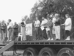 Australia Day 1992  - Citizens Award Ceremony. Mayor Bartlett on Left