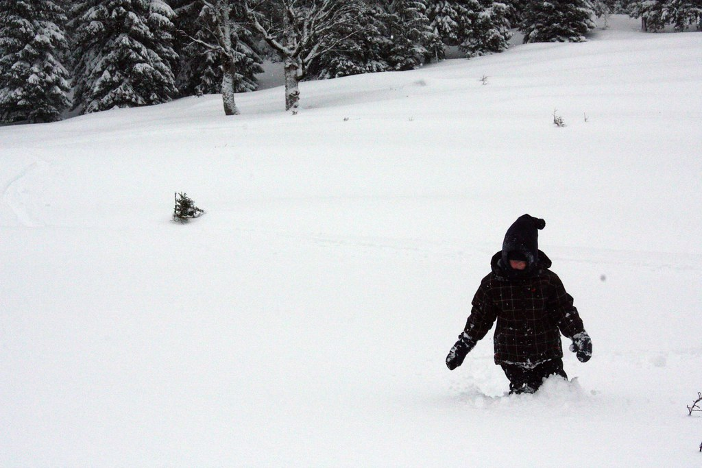 100cm Schnee