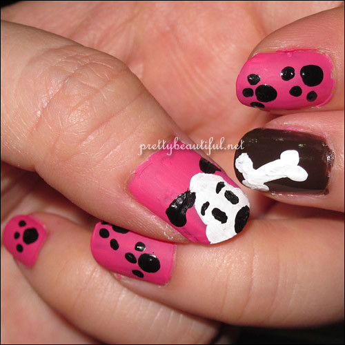 bow wow nail art done