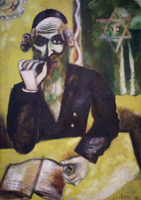 marc chagall man sagt der rabbiner one says the rabbi flickr photo sharing. Black Bedroom Furniture Sets. Home Design Ideas