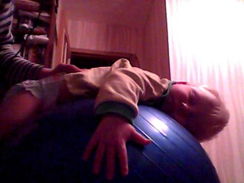 Яша заснул на шаре by Ник0лай