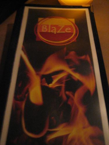 IMG_3866 Blaze menu