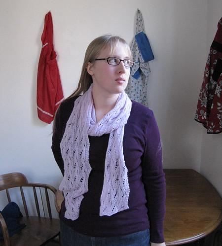 Falling water scarf