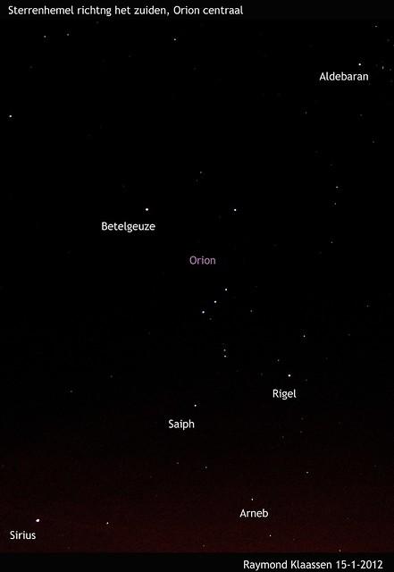 Heldere avond Orion