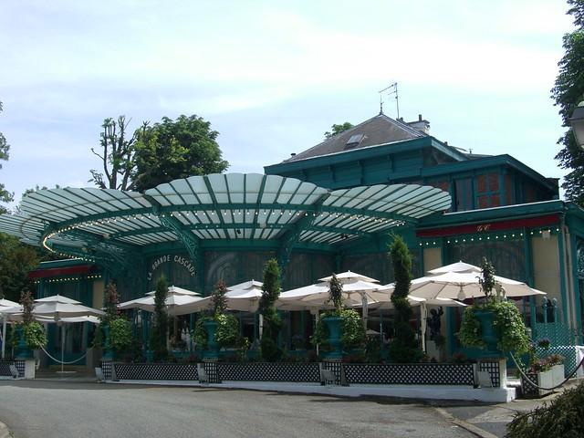Restaurant La Grande cascade, Bois de Boulogne