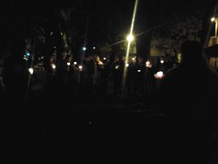 MLK Candelight Vigil