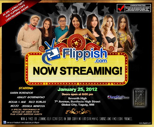 Flippish.com Now Streaming Launch Party