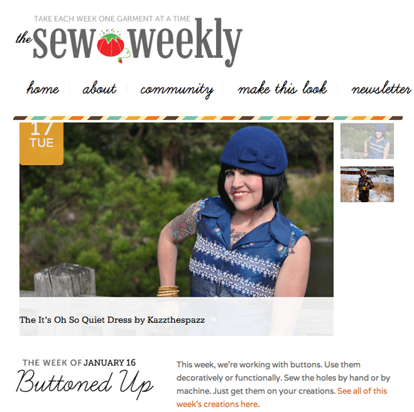 Sew Weekly | Feature Kazzthespazz