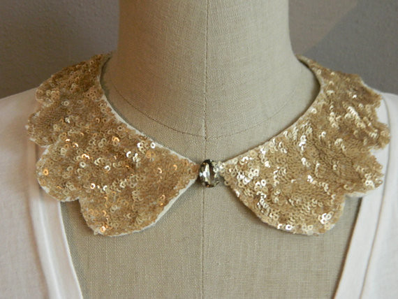gold sequin peter pan