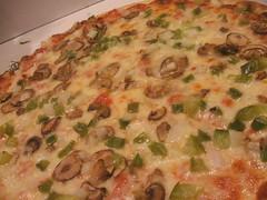 Mushroom/onion/pepper