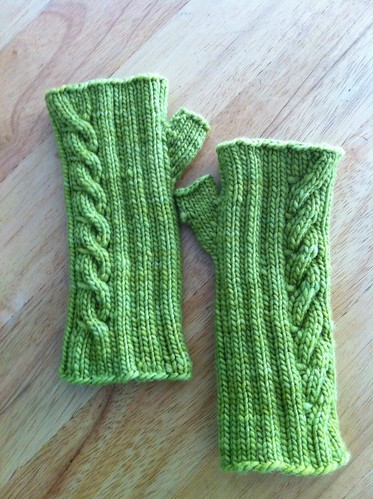 Green Fingerless