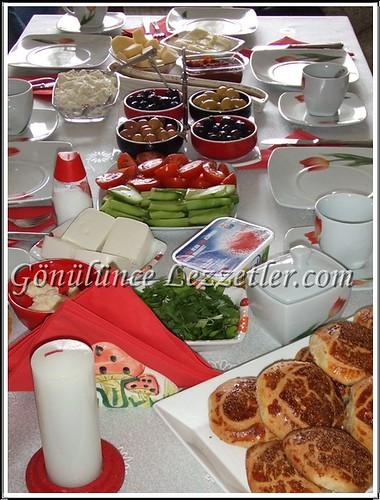 melekde kahvaltı