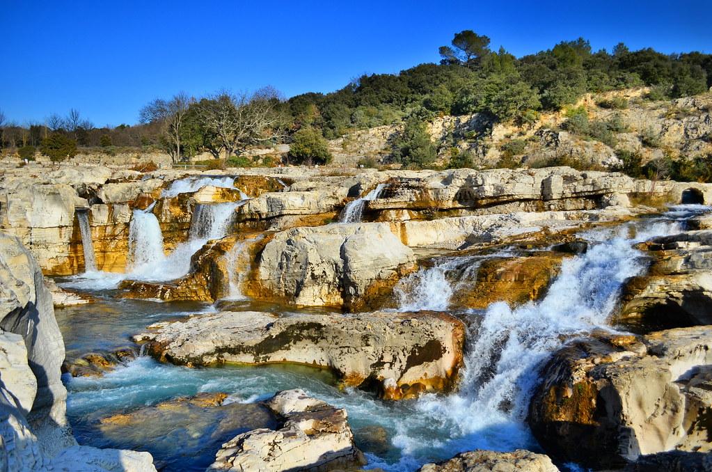 Cascades du Sautadet dans le Gard (30)