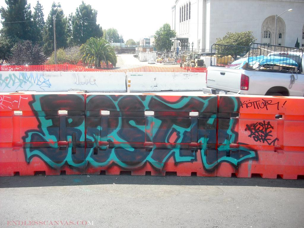 RESTA graffiti - Oakland, Ca