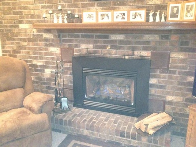 Gas Fireplace Insert | Flickr - Photo Sharing!