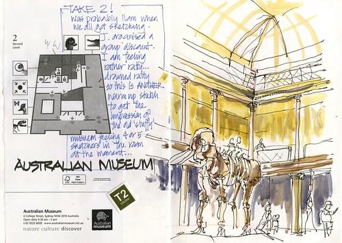 120121 Sketchcrawl 34_04 Plan B_Australian Museum
