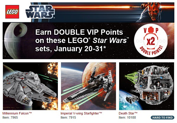 Double VIP Points - January 20-31