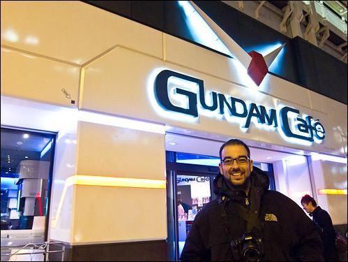 Gundam Cafe en Akihabara