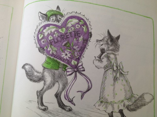 fox valentine book