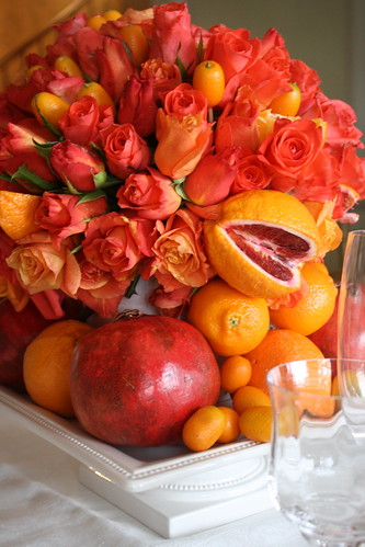 A citrus themed party