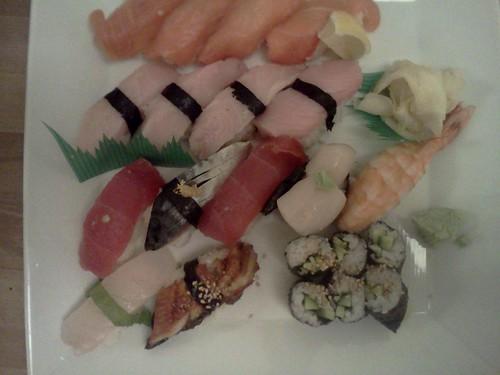 Sushi combination at Hama Ko