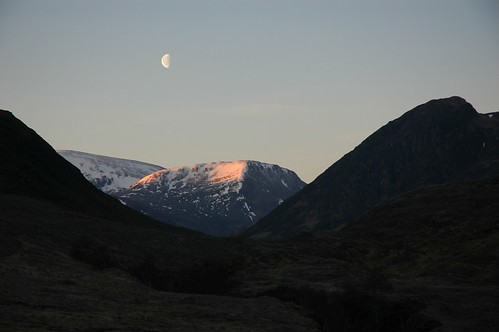 Carn Gorm & Moruisg above Glen Fhiodhaig