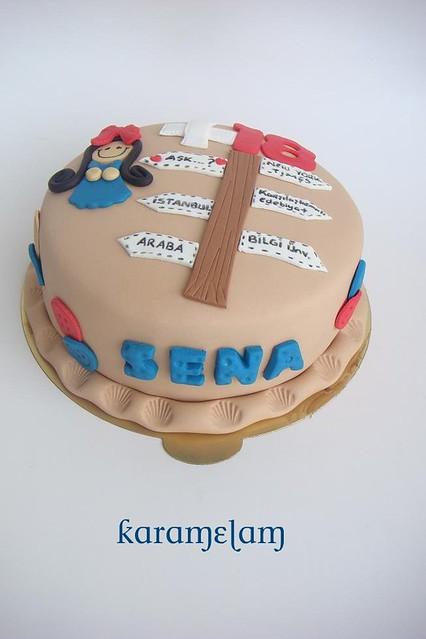 +18 target cake