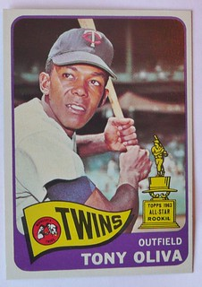 TONY OLIVA MINNESOTA TWINS 1965 #1