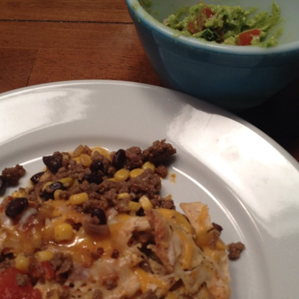 26/366 Supper. Always better with some guacamole :)