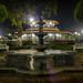 La fuente en el parque