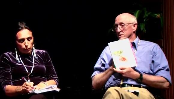 Winona LaDuke and Stewart Brand
