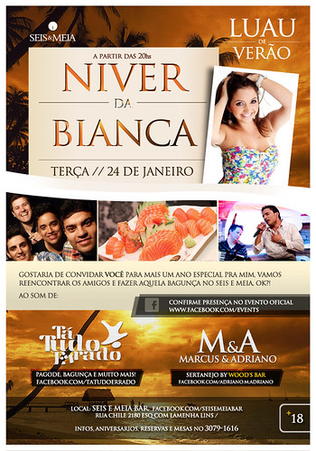 Flyer Bianca by chambe.com.br