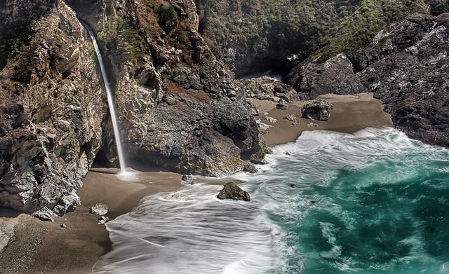 McWay Falls-Big Sur Coastline