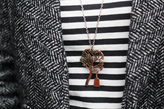 tree necklace a.p.c breton