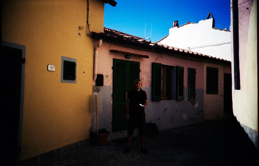 Elba, through a LOMO lens