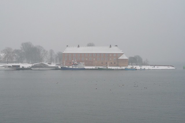 Sonderborg Castle in the snow