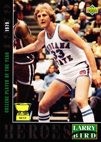 Baseball Card Bust Larry Bird 1992 93 Upper Deck