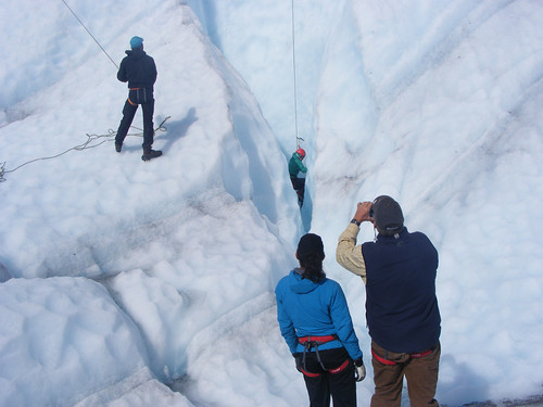 learn to ice climb in summer in wrangell st elias national park alaska with wild alpine guides