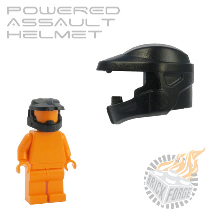 Powered Assault Helmet - Black