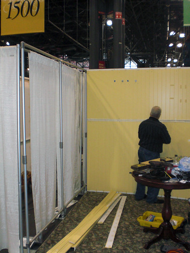 Portable Trade Show Booth Support Structure Simplified