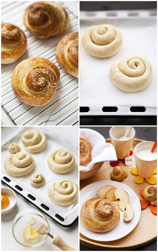 Pane al Formaggio di Monte Pelio (collage)