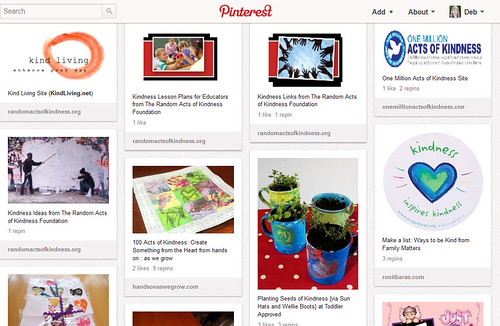 Pinterest - Kindness Projects