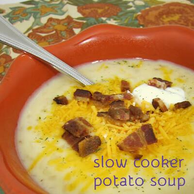 slow cooker potato soup - the plain chicken