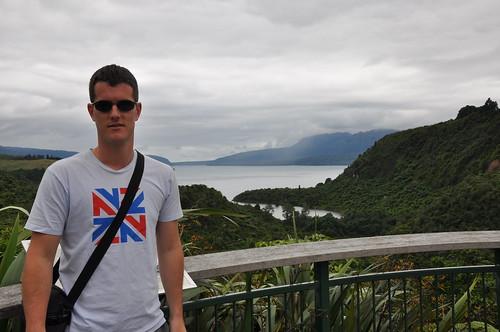 View over Lake Tarawera