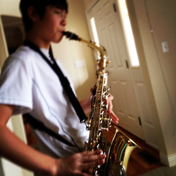 34/365 - Some Cool Jazz #saxophone