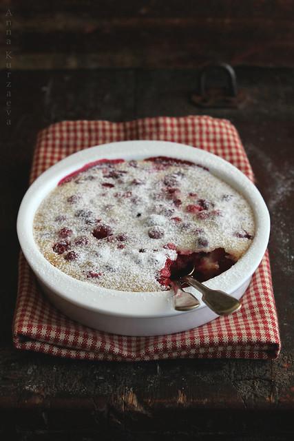 Winter Berries Clafoutis