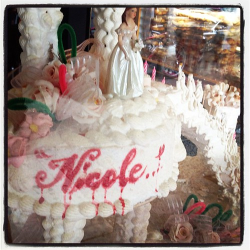 I imagine this would be my wedding cake in hell