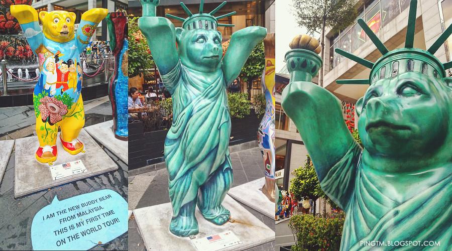 United Buddy Bears Malaysia & United States