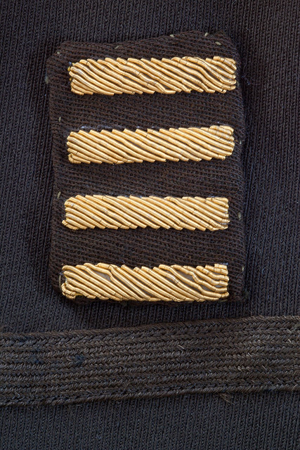 1940s World War II service stripes, commonly called hash ...