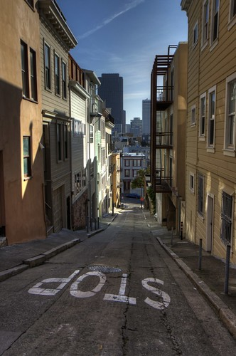 Telegraph Hill, San Francisco (HDR)